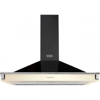 Save £81 at AO on Stoves S1100 RICH CHIM RAIL 110 cm Chimney Cooker Hood - Cream - A Rated