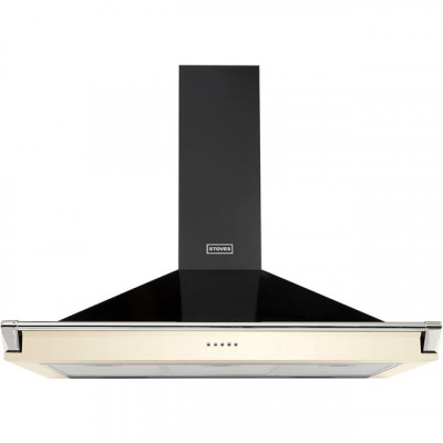 Save £60 at AO on Stoves S1000 RICH CHIM RAIL 100 cm Chimney Cooker Hood - Cream - A Rated