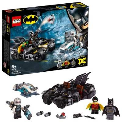 Save £4 at Argos on LEGO Super Heroes Batman Twin Bike - 76118