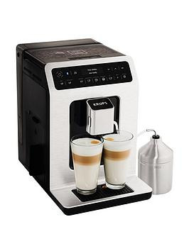 Save £150 at Very on Krups Evidence Connected Ea893D40 Espresso Bean To Cup Coffee Machine - Metal