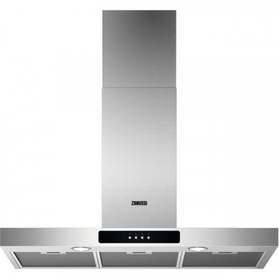 Save £70 at AO on Zanussi ZFT519X 90 cm Chimney Cooker Hood - Stainless Steel - C Rated