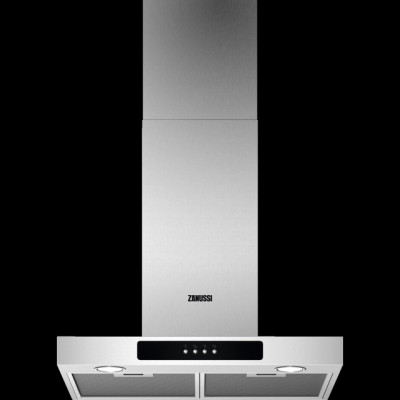 Save £60 at AO on Zanussi ZFT516X 60 cm Chimney Cooker Hood - Stainless Steel - C Rated