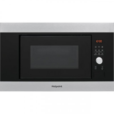 Save £32 at AO on Hotpoint MF20GIXH Built In Microwave With Grill - Stainless Steel Effect