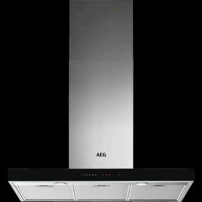 Save £111 at AO on AEG DBE5961HG 90 cm Chimney Cooker Hood - Stainless Steel - A Rated