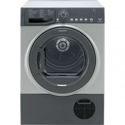 Save £36 at AO on Hotpoint TCFS83BGG 8Kg Condenser Tumble Dryer - Graphite - B Rated