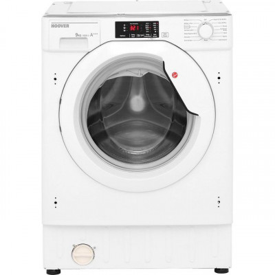 Save £50 at AO on Hoover H-WASH 300 HBWM914D Integrated 9Kg Washing Machine with 1400 rpm - White - A+++ Rated