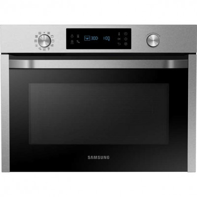 Save £80 at AO on Samsung NQ50J3530BS Built In Compact Electric Single Oven with Microwave Function - Stainless Steel