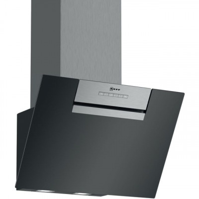 Save £57 at AO on NEFF N30 D65IEE1S0B 60 cm Angled Chimney Cooker Hood - Black - B Rated