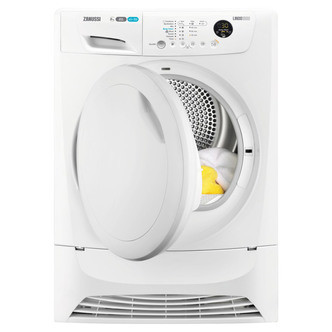 Save £70 at Sonic Direct on Zanussi ZDH8903PZ LINDO1000 Heat Pump Tumble Dryer in White 8kg A