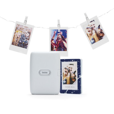 Save £20 at WEX Photo Video on Fujifilm Instax Link Instant Printer Kit - Ash White