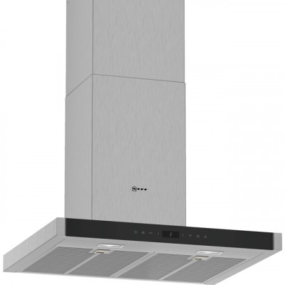 Save £120 at AO on NEFF N70 D65BMP5N0B 60 cm Chimney Cooker Hood - Stainless Steel - A Rated