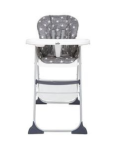 Save £10 at Very on Joie Mimzy Snacker Highchair – Twinkle Linen