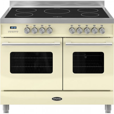 Save £856 at AO on Britannia Delphi RC-10TI-DE-CR 100cm Electric Range Cooker with Induction Hob - Cream - A/A Rated