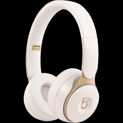 Save £20 at AO on Beats Solo Pro Over-Ear Wireless Bluetooth Headphones - Ivory White