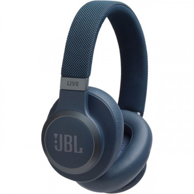 Save £62 at AO on JBL Live 650BTNC Over-Ear Wireless Bluetooth Headphones - Blue