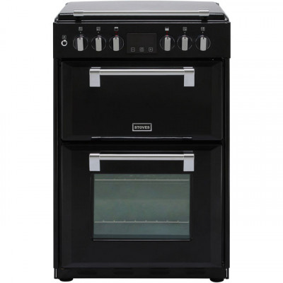 Save £120 at AO on Stoves Richmond600DF 60cm Dual Fuel Cooker - Black - A/A Rated - Needs 4.8KW Electrical Connection
