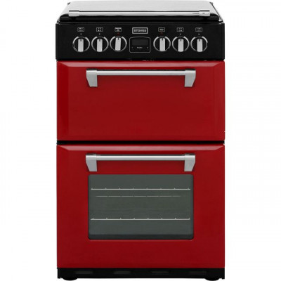 Save £98 at AO on Stoves Mini Range RICHMOND550E 55cm Electric Cooker with Ceramic Hob - Jalapeno - A/A Rated