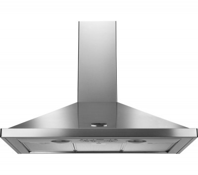 Save £70 at Currys on RANGEMASTER LEIHDC100SS/C Chimney Cooker Hood - Stainless Steel, Stainless Steel