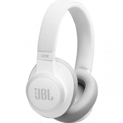 Save £10 at AO on JBL Live 650BTNC Over-Ear Wireless Bluetooth Headphones - White