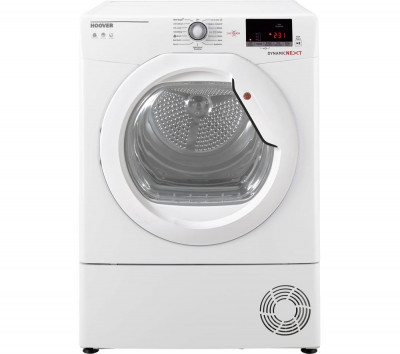 Save £30 at Currys on HOOVER Dynamic Next DX C10DG NFC 10 kg Condenser Tumble Dryer - White, White