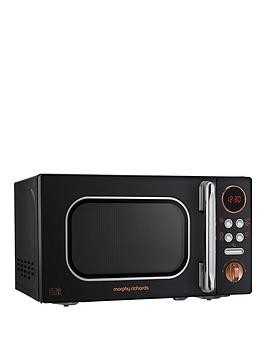 Save £15 at Very on Morphy Richards 800W 20-Litre Microwave - Black Gold