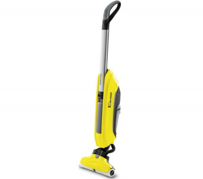 Save £50 at Currys on KARCHER FC 5 Cordless Hard Floor Cleaner – Yellow, Yellow