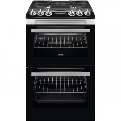 Save £75 at AO on Zanussi ZCG43250XA 55cm Gas Cooker with Full Width Electric Grill - Stainless Steel - A/A Rated