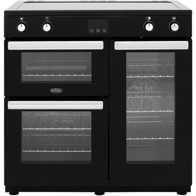 Save £151 at AO on Belling Cookcentre90Ei 90cm Electric Range Cooker with Induction Hob - Black - A/A Rated