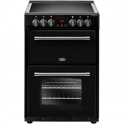 Save £80 at AO on Belling Farmhouse60E 60cm Electric Cooker with Ceramic Hob - Black - A/A Rated