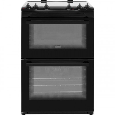 Save £50 at AO on Zanussi ZCV66050BA 60cm Electric Cooker with Ceramic Hob - Black - A/A Rated