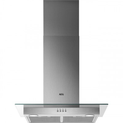 Save £40 at AO on AEG DTB3654M 60 cm Chimney Cooker Hood - Stainless Steel - C Rated