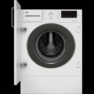 Save £60 at AO on Beko WTIK86151F Integrated 8Kg Washing Machine with 1600 rpm - White - A+++ Rated