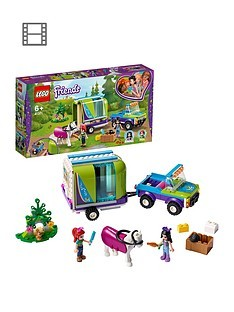 Save £5 at Very on LEGO Friends 41371 Mia's Horse Trailer Stable Set