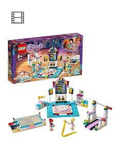 Save £5 at Very on LEGO Friends 41762 Stephanie's Gymnastics Show Set