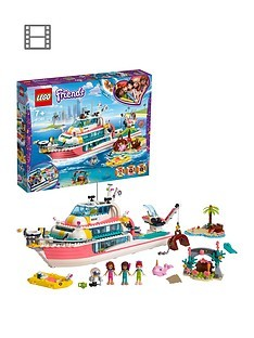Save £13 at Very on LEGO Friends 41381 Rescue Mission Boat Toy with Mini Dolls