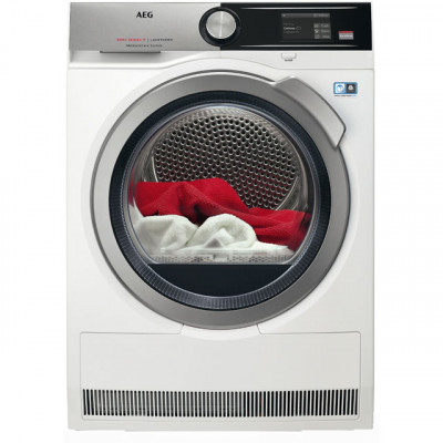 Save £200 at AO on AEG AbsoluteCare Technology T8DEA866C Wifi Connected 8Kg Heat Pump Tumble Dryer - White - A+++ Rated