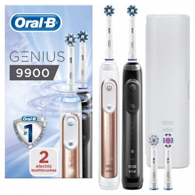 Save £92 at Argos on Oral-B Genius 9900 Electric Toothbrush - Duo Pack