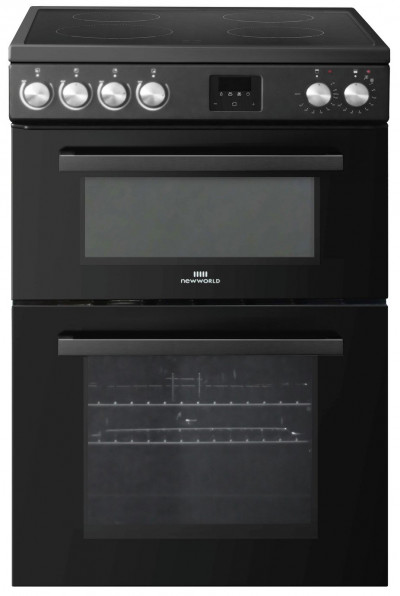 Save £50 at Argos on New World NWLS60TEB 60cm Twin Electric Cooker - Black