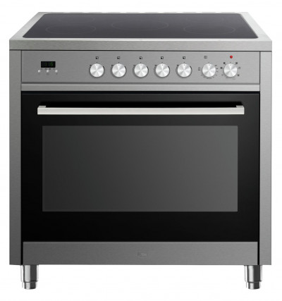 Save £100 at Argos on Bush BRCP90ESS 90cm Electric Range Cooker - Stainless Steel