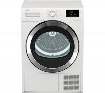 Save £70 at Currys on Beko Tumble Dryer DHX93460W 9 kg Heat Pump - White, White