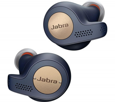 Save £31 at Currys on JABRA Elite 65t Wireless Bluetooth Headphones - Copper Blue, Blue