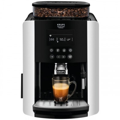 Save £120 at AO on Krups Arabica Digital EA817840 Bean to Cup Coffee Machine - Silver