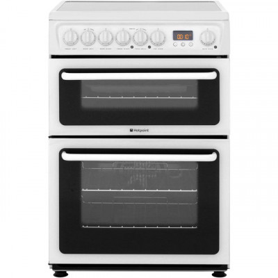 Save £39 at AO on Hotpoint Newstyle HAE60PS Electric Cooker with Ceramic Hob - White - B/B Rated
