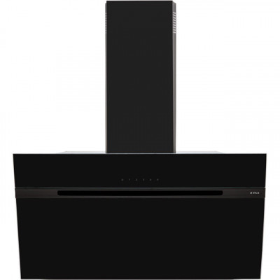 Save £115 at AO on Elica ASC-LED-90BLK 90 cm Angled Chimney Cooker Hood - Black Glass - B Rated