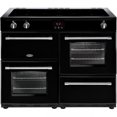Save £230 at AO on Belling Farmhouse110Ei 110cm Electric Range Cooker with Induction Hob - Black - A/A Rated