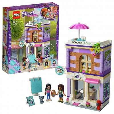 Save £7 at Argos on LEGO Friends Emma's Art Studio Playset - 41365