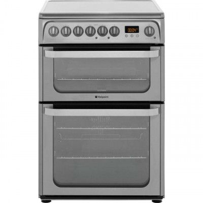 Save £60 at AO on Hotpoint Ultima HUE61XS Electric Cooker with Ceramic Hob - Stainless Steel - A/A Rated