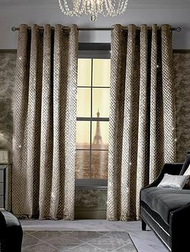 Save £40 at Very on Kylie Minogue Grazia Lined Eyelet Curtains