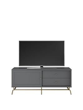 Save £74 at Very on Cosmoliving By Cosmopolitan Nova Tv Stand - Grey - Fits Up To 65 Inch Tv