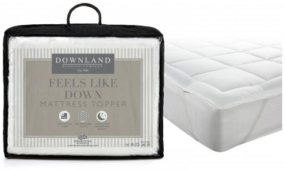 Save £12 at Argos on Downland Feels Like Down Mattress Topper - Kingsize